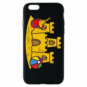 Etui na iPhone 6/6S Zamek z piasku - PrintSalon