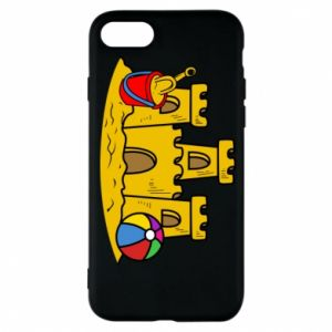 Phone case for iPhone 7 Sand castle