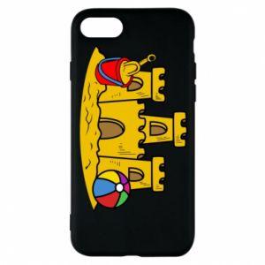 Etui na iPhone 8 Zamek z piasku - PrintSalon