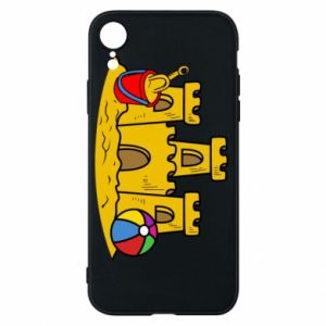 Phone case for iPhone XR Sand castle