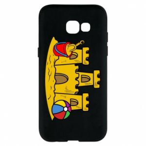 Phone case for Samsung A5 2017 Sand castle