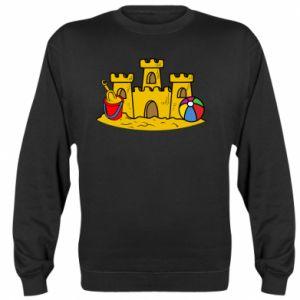 Bluza (raglan) Zamek z piasku - PrintSalon