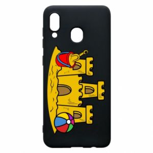 Phone case for Samsung A20 Sand castle