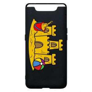 Phone case for Samsung A80 Sand castle