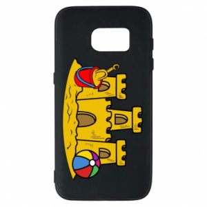 Phone case for Samsung S7 Sand castle