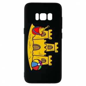 Phone case for Samsung S8 Sand castle