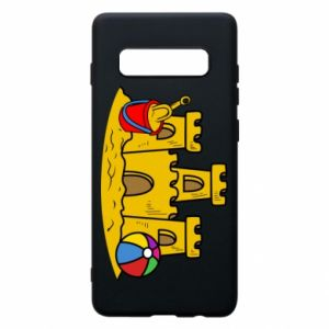 Phone case for Samsung S10+ Sand castle