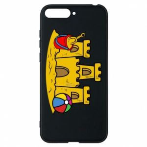 Phone case for Huawei Y6 2018 Sand castle