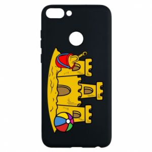 Phone case for Huawei P Smart Sand castle