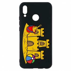 Phone case for Huawei P20 Lite Sand castle
