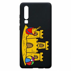 Phone case for Huawei P30 Sand castle