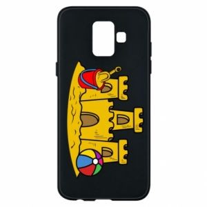 Phone case for Samsung A6 2018 Sand castle