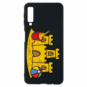 Phone case for Samsung A7 2018 Sand castle