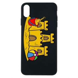 Phone case for iPhone Xs Max Sand castle