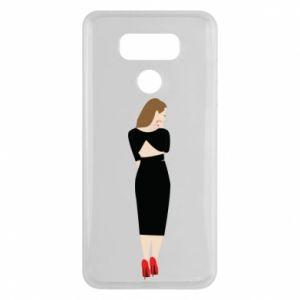 Etui na LG G6 Zamyślona dziewczyna