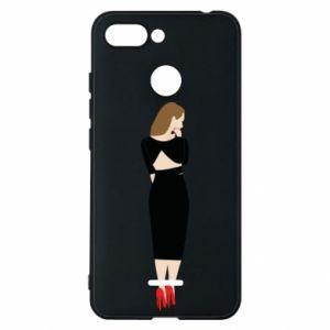 Etui na Xiaomi Redmi 6 Zamyślona dziewczyna