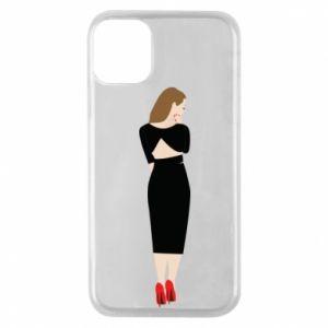 Etui na iPhone 11 Pro Zamyślona dziewczyna
