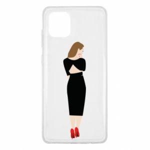 Etui na Samsung Note 10 Lite Zamyślona dziewczyna