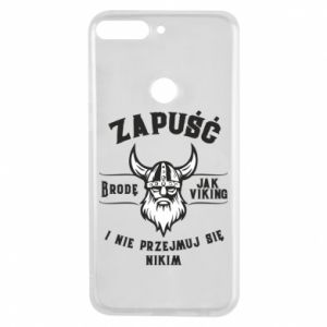 Phone case for Huawei Y7 Prime 2018 Grow a beard