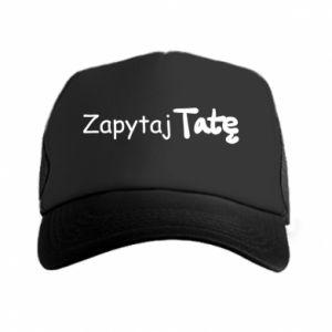 Trucker hat Ask Dad - PrintSalon