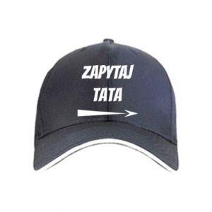 Cap Ask dad inscription