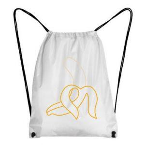 Plecak-worek Zarys banana
