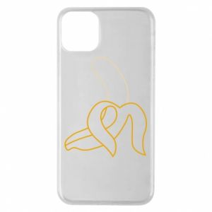 iPhone 11 Pro Max Case Outline banana