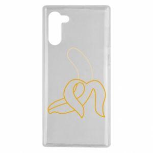 Samsung Note 10 Case Outline banana