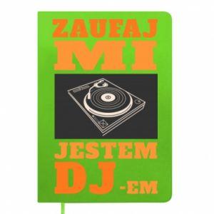Notes Zaufaj mi  jestem DJ-em.