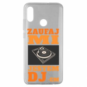 Etui na Huawei Honor 10 Lite Zaufaj mi  jestem DJ-em.