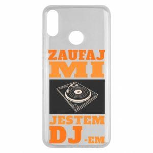 Etui na Huawei Y9 2019 Zaufaj mi  jestem DJ-em.