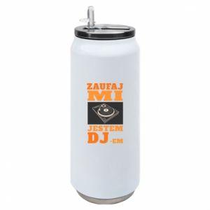Puszka termiczna Zaufaj mi  jestem DJ-em.