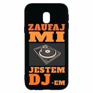 Etui na Samsung J3 2017 Zaufaj mi  jestem DJ-em.