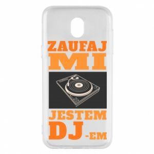 Etui na Samsung J5 2017 Zaufaj mi  jestem DJ-em.