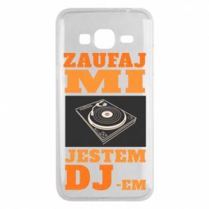 Etui na Samsung J3 2016 Zaufaj mi  jestem DJ-em.