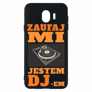 Etui na Samsung J4 Zaufaj mi  jestem DJ-em.