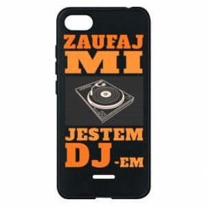 Phone case for Xiaomi Redmi 6A Trust me, I'm a DJ