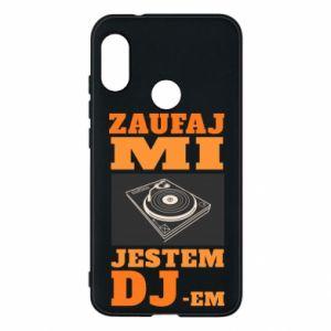Etui na Mi A2 Lite Zaufaj mi  jestem DJ-em.