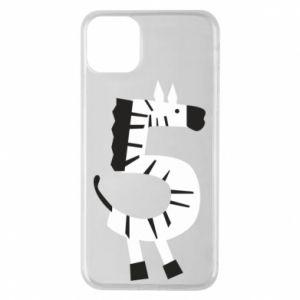 Etui na iPhone 11 Pro Max Zebra for five years