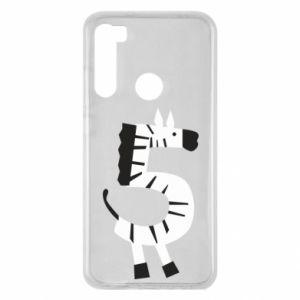 Etui na Xiaomi Redmi Note 8 Zebra for five years