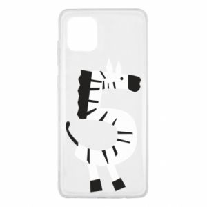 Etui na Samsung Note 10 Lite Zebra for five years