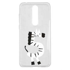 Etui na Nokia 5.1 Plus Zebra for five years