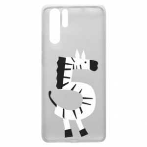 Etui na Huawei P30 Pro Zebra for five years