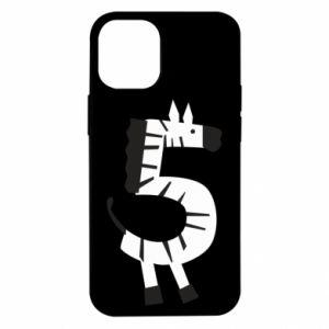 Etui na iPhone 12 Mini Zebra for five years