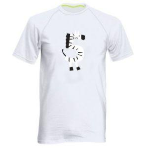 Koszulka sportowa męska Zebra for five years