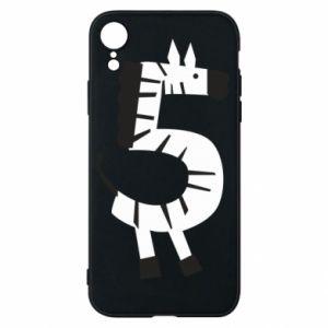 Etui na iPhone XR Zebra for five years