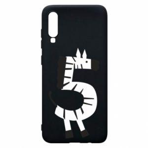 Etui na Samsung A70 Zebra for five years