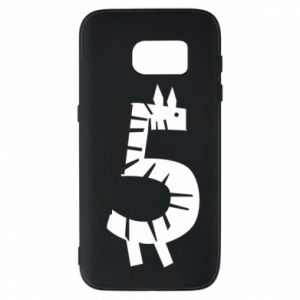 Etui na Samsung S7 Zebra for five years