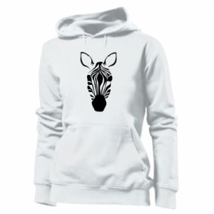 Women's hoodies Striped zebra