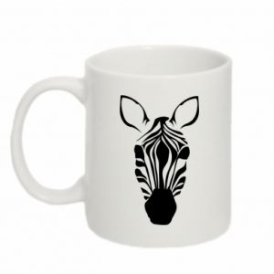 Mug 330ml Striped zebra